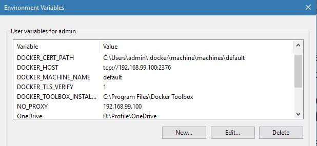 docker toolbox for windows